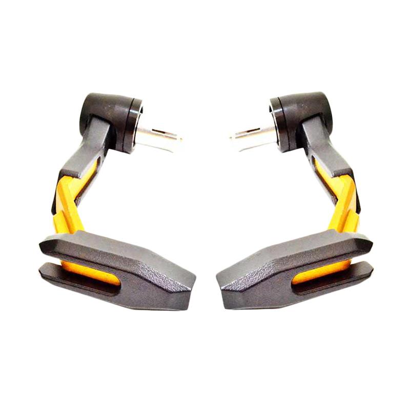 harga RajaMotor Aksesoris MotorMotoGP Proguard Miring Plastik Decker Handguard - Gold [DKR6030- Gold] Blibli.com