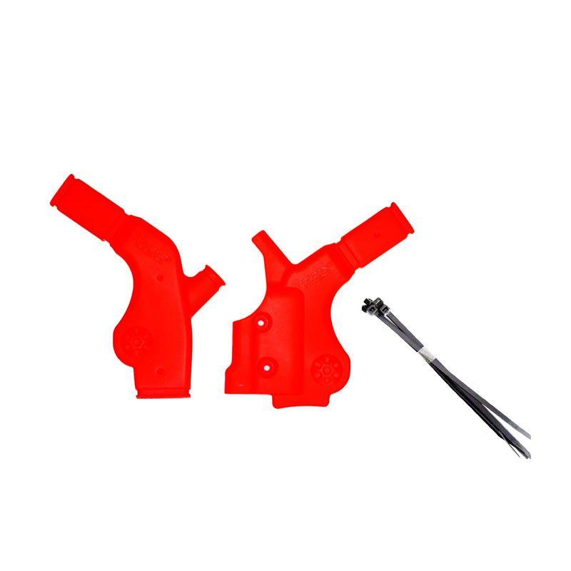 RajaMotor CVB4201 Gordon Merah Pelindung Rangka Untuk Kawasaki KLX 150