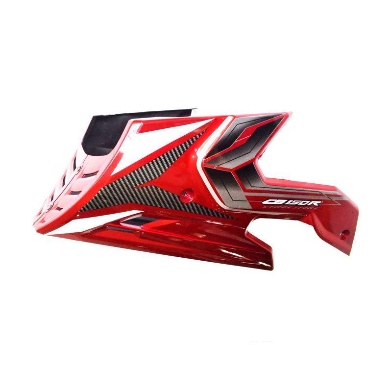 RajaMotor DEM1042 Nemo Hitam List Merah Dek Mesin Untuk Honda CB 150R