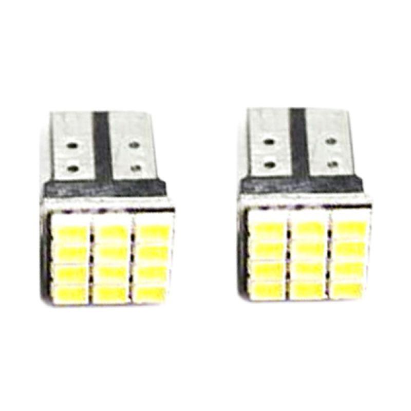 RajaMotor DOS9053 12 Mata Merah Lampu LED Speedometer