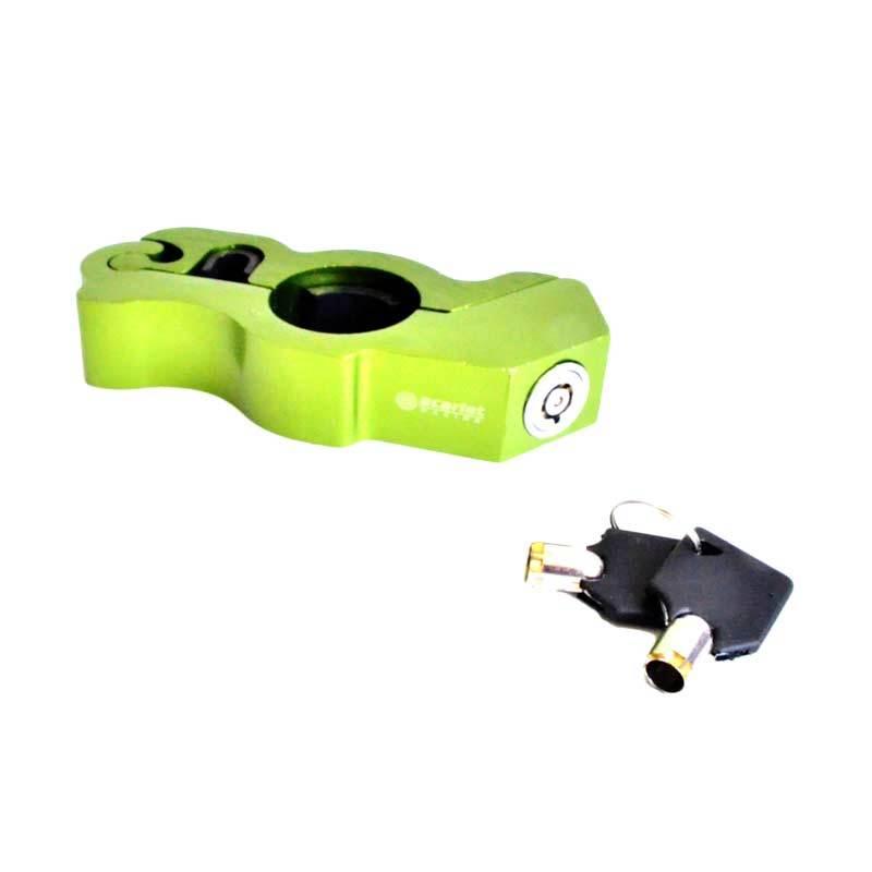 RajaMotor Grip Lock KAS9011 Hijau Kunci Stang