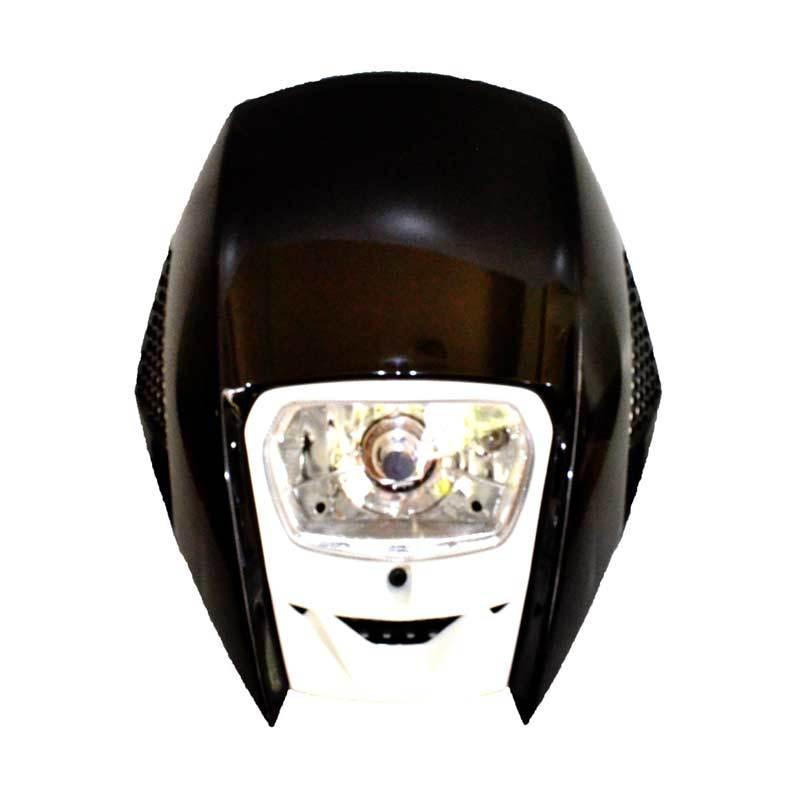 RajaMotor Motocross KLX TEL4004 Putih Terobong Lampu Depan