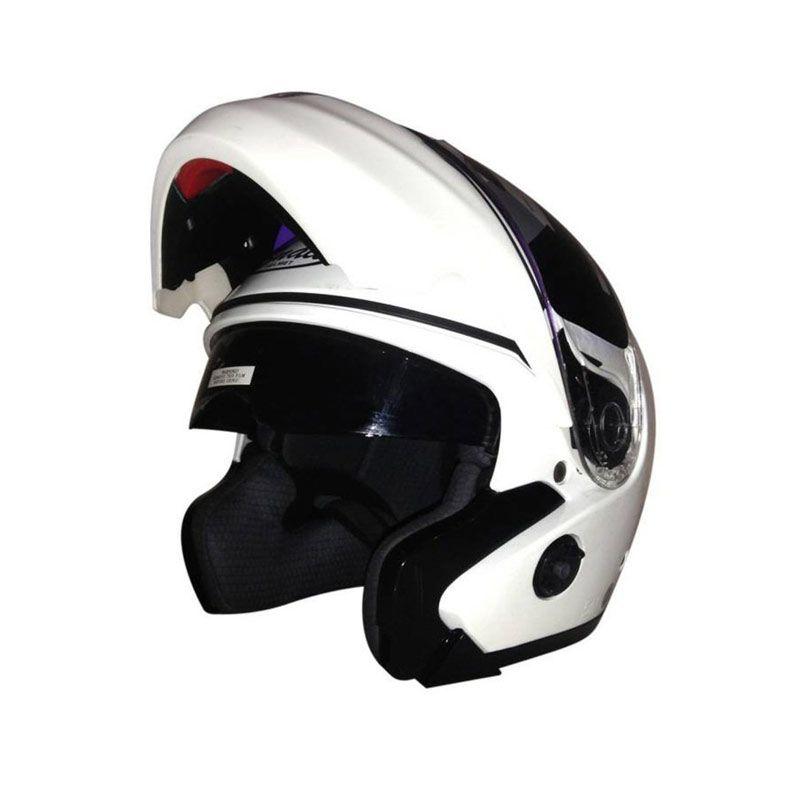 Snail HLM3337 - FF851 Putih Helm Modular