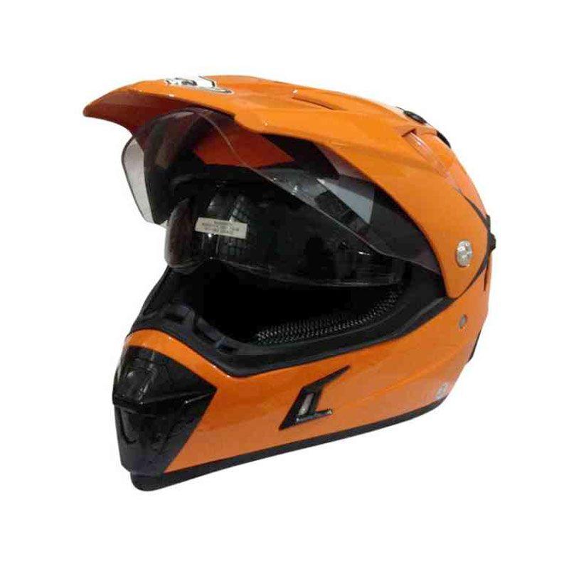 Snail HLM6088 - MX311 Orange Helm Motocross