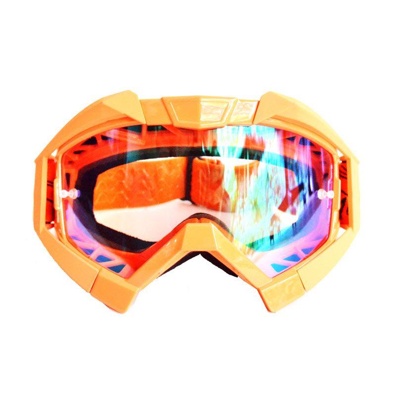 Snail KMT6065 - MX30 Orange Pelangi Kacamata Gogle