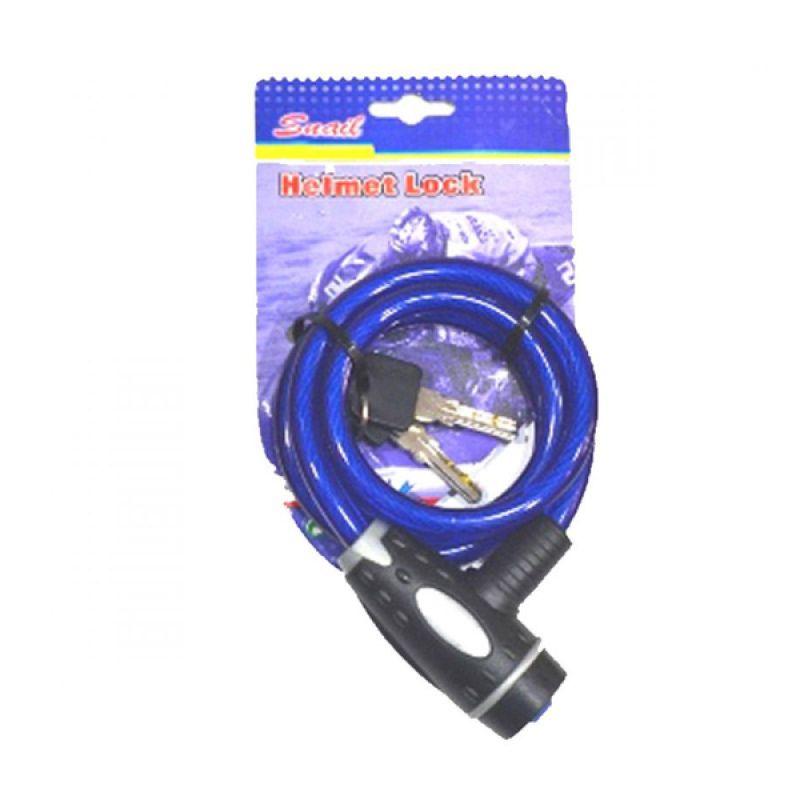 Snail KUH9012BR - TY551E Biru Helmet Lock Kunci Helm [Besar]