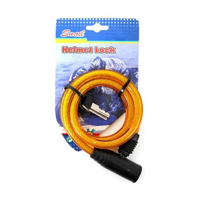 Snail Kunci Helm Besar TY513A Plastik Kuning (KUH9014KN)