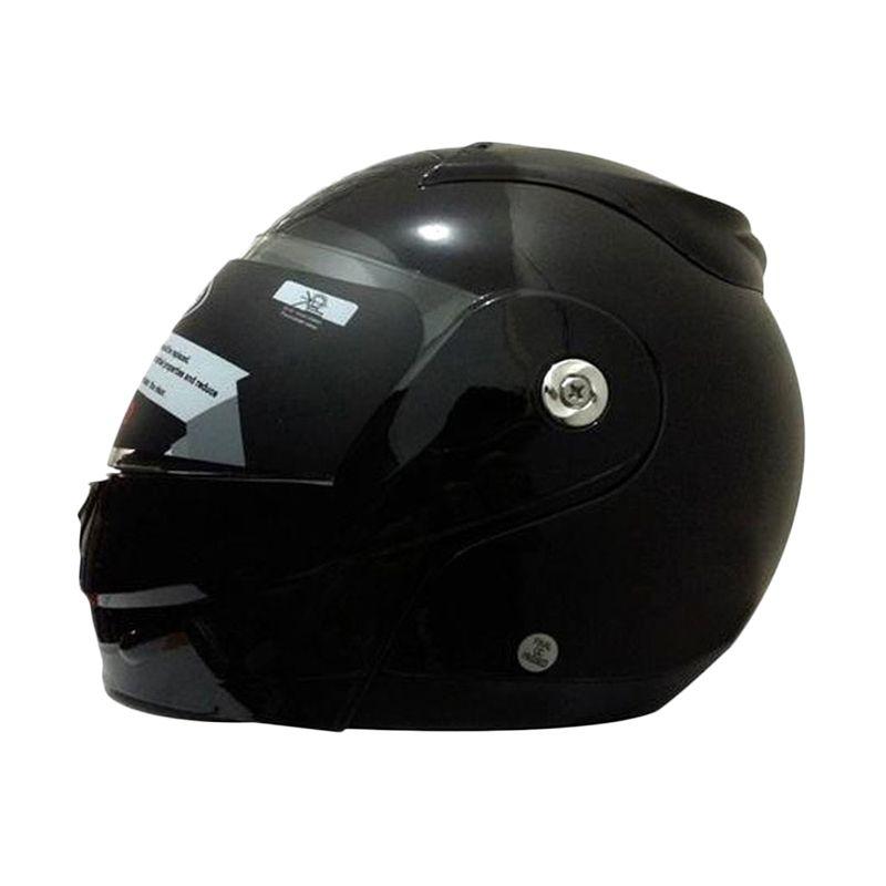 Snail Modular FF991-HTMDOVE Hitam Dove Helm Full Face