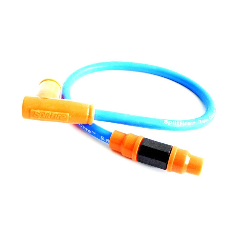 Splitfire COB9014 Biru Orange Cop Busi Dan Kabel Racing