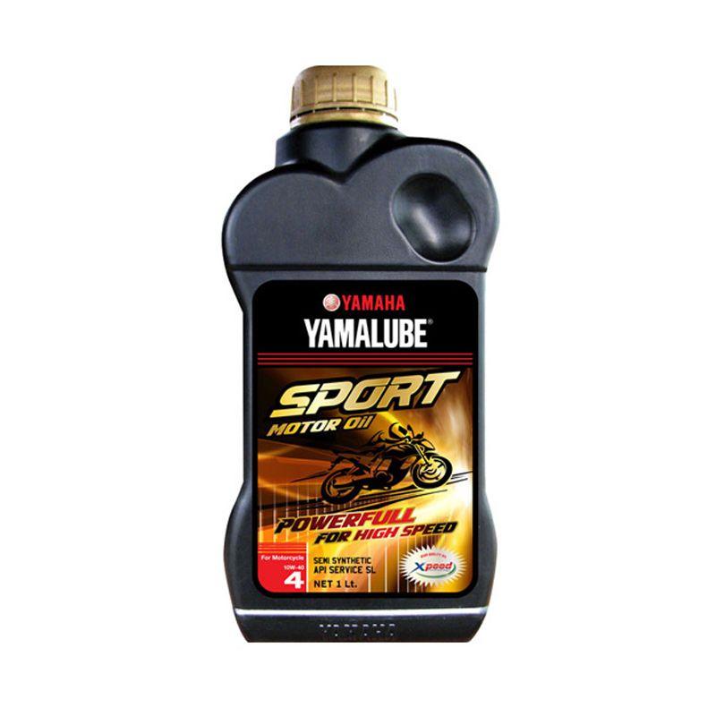 Yamalube OME1075 Sport SL 10W40 4 T Oli Pelumas Motor [1 L]