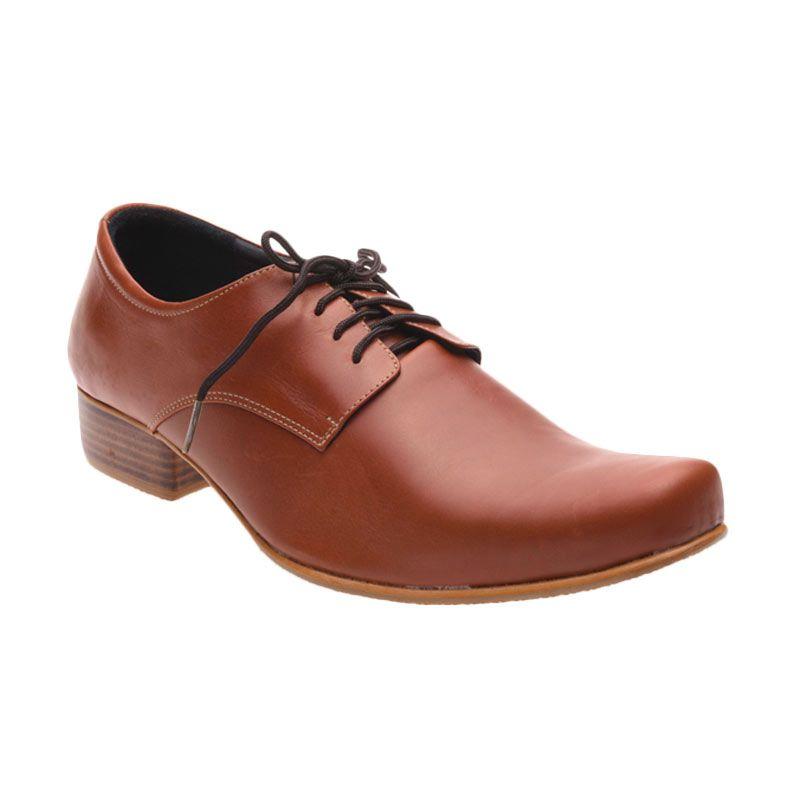 Allonzo MK 712 Brown Sepatu Formal Pria