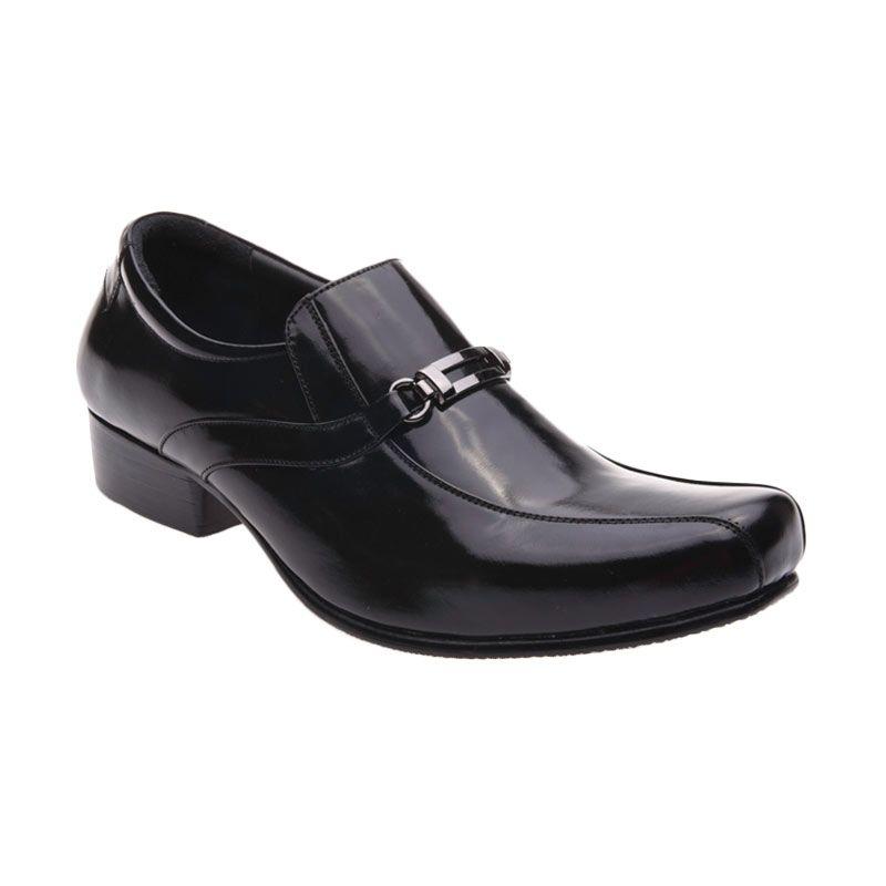 Allonzo SK 009 Black Sepatu Formal Pria