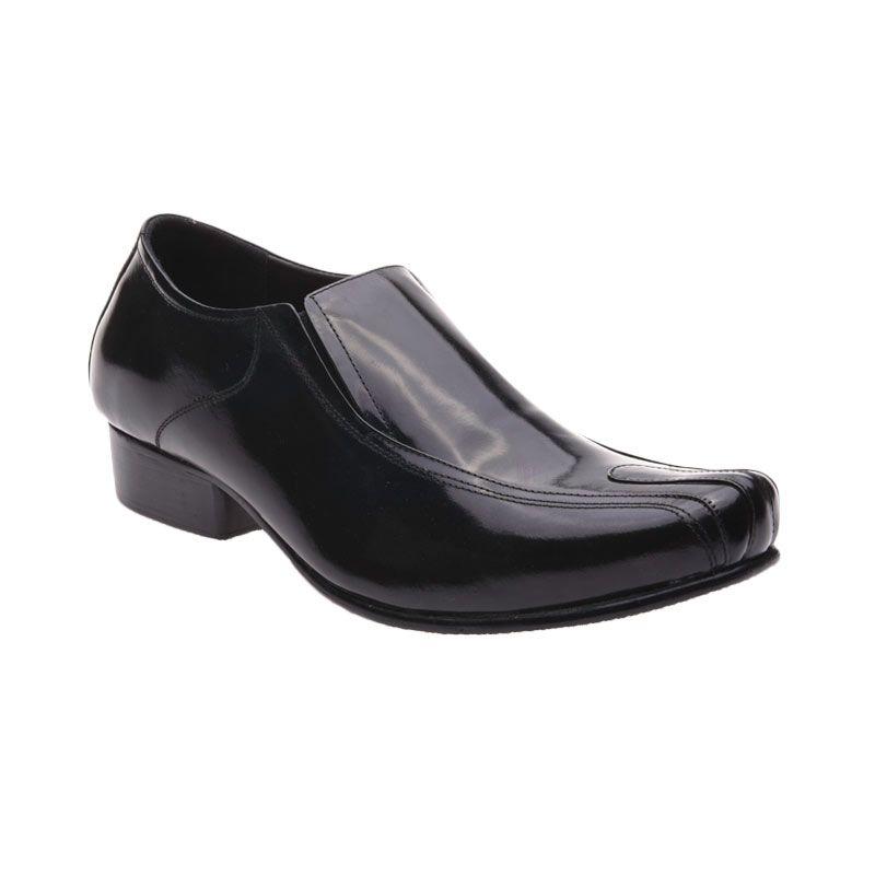 Allonzo SP 003 Black Sepatu Formal Pria