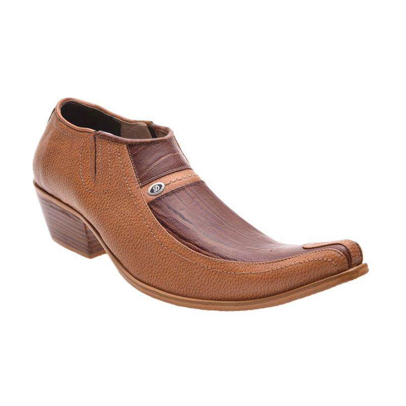 Allonzo SPA 201 Brown Sepatu Formal Pria