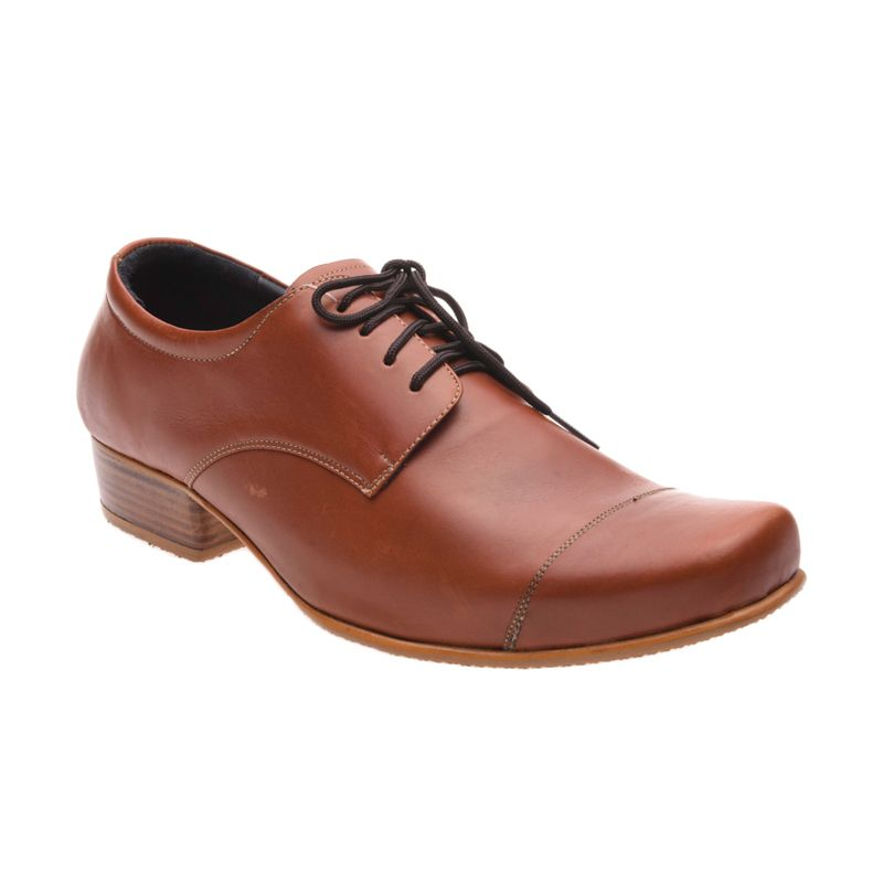 Allonzo MK 715 Brown Sepatu Formal Pria