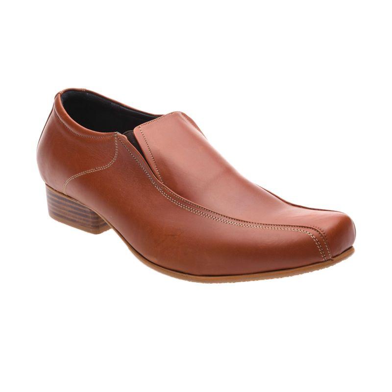 Allonzo SP 003 Brown Sepatu Formal Pria
