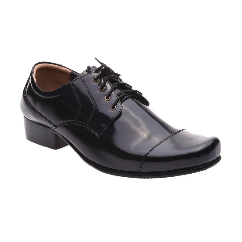 Allonzo SPE 104 Black Sepatu Formal Pria