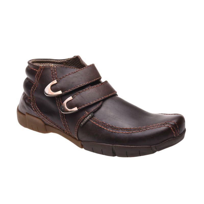 Belbery SMB 701 Brown Sepatu Pria