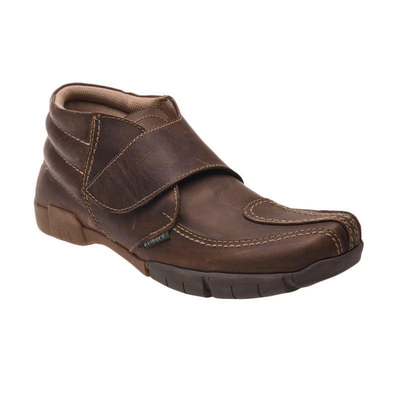 Belbery SP 709 Olive Brown Sepatu Pria