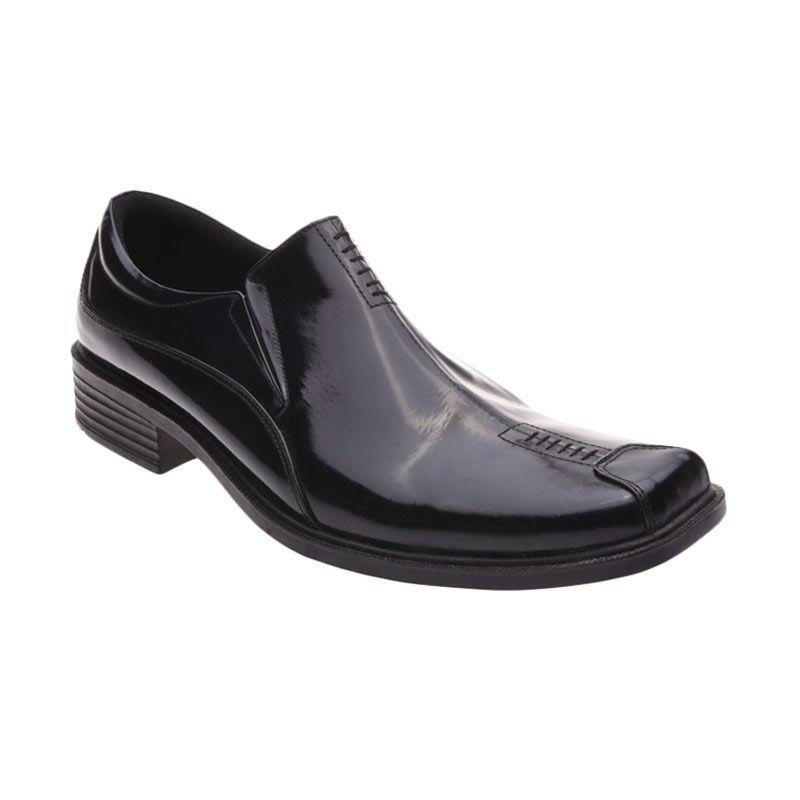 Handymen F 04 Black Sepatu Formal Pria