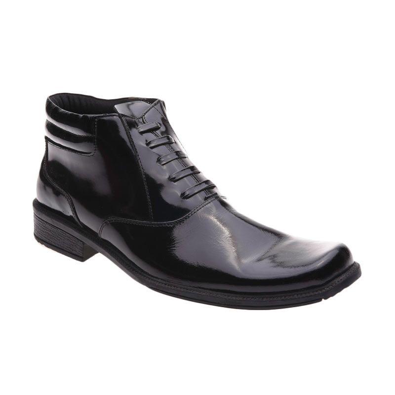 Handymen F 07 Black Sepatu Pria