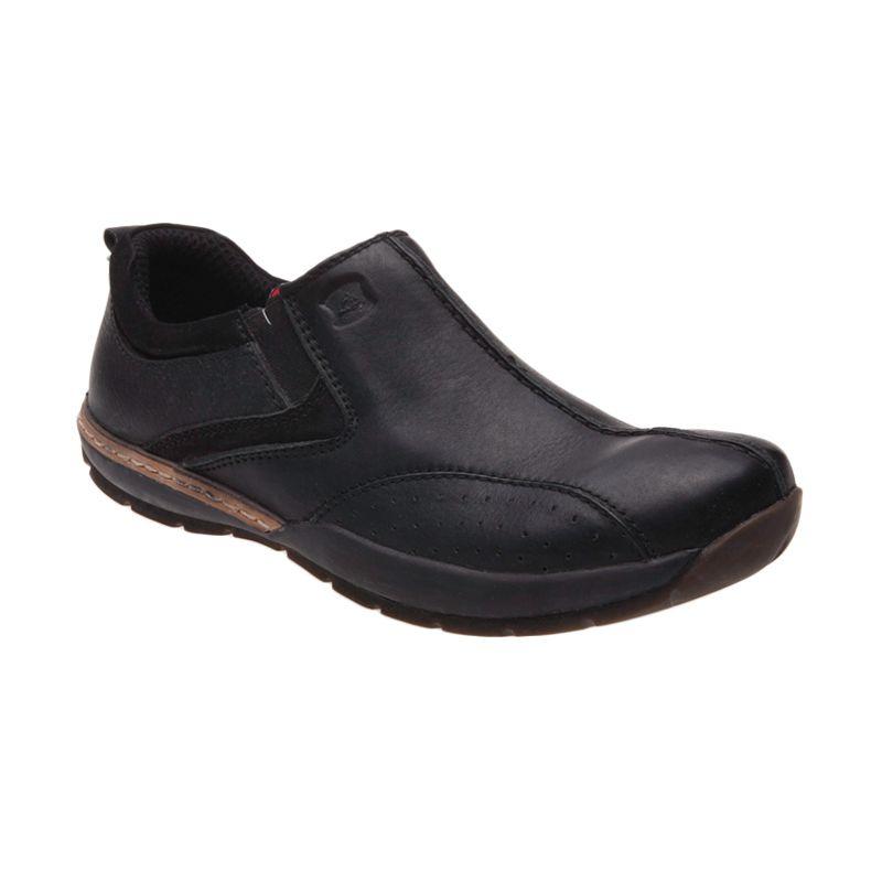 Handymen FH 05 Black Sepatu Pria