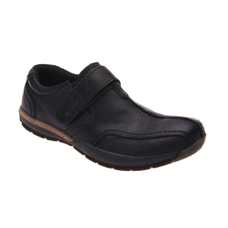 Handymen FH 010 Black Sepatu Pria