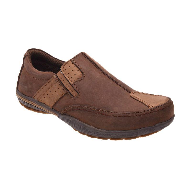 Handymen FR 01 Olive Brown Sepatu Pria