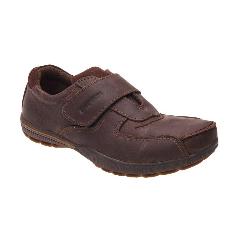 Handymen FR 03 Olive Brown Sepatu Pria