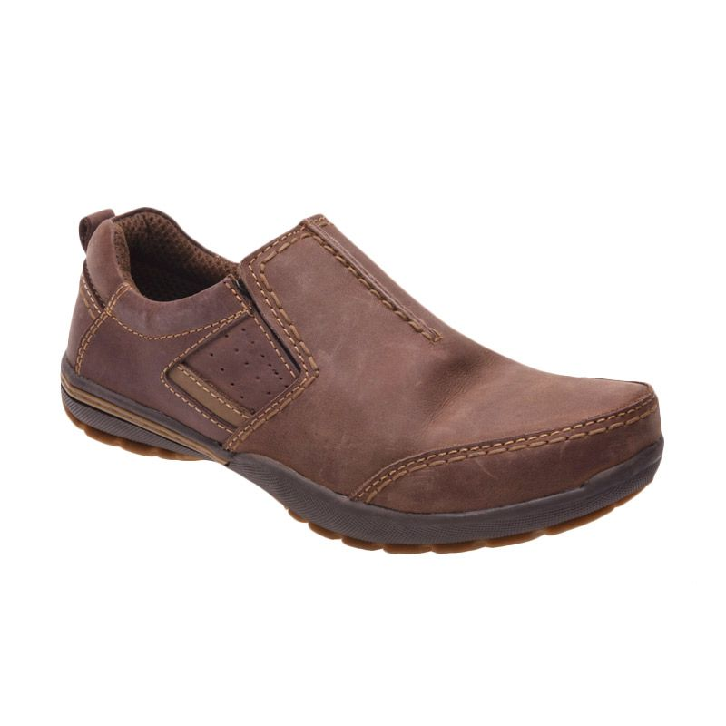 Handymen FR 02 Olive Brown Sepatu Pria