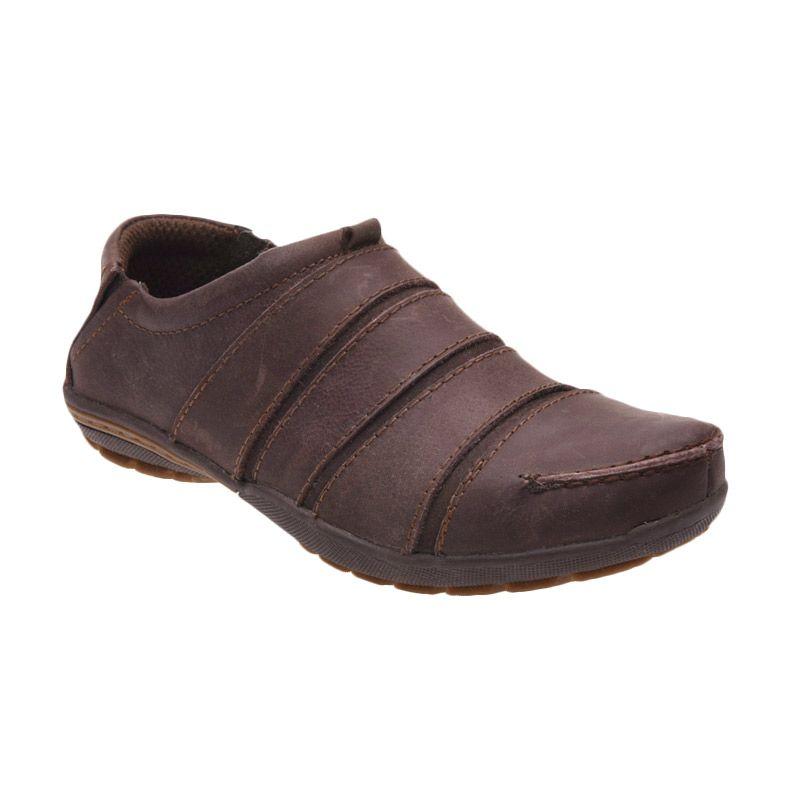 Handymen FR 08 Brown Sepatu Pria