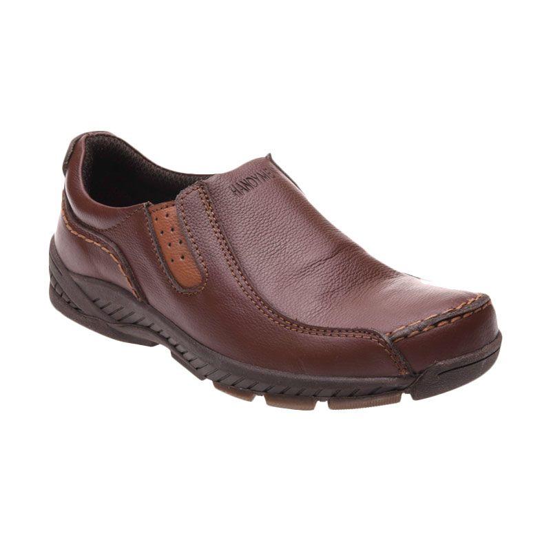 Handymen HK 01 Brown Sepatu Pria