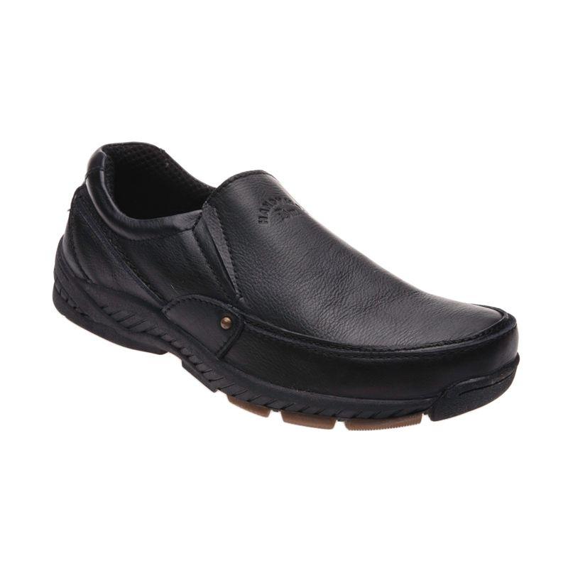 Handymen HK 017 Black Sepatu Pria
