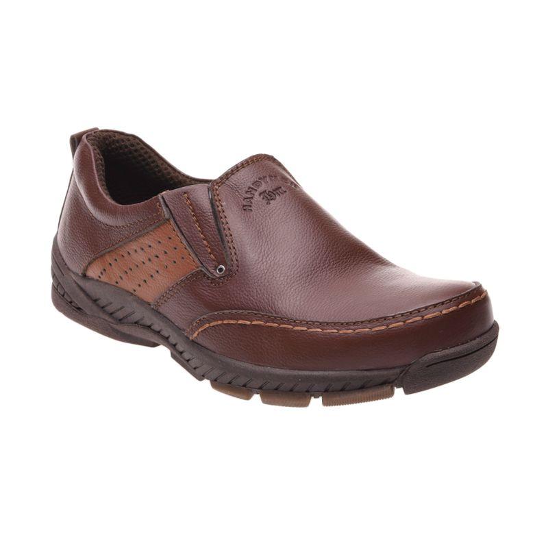 Handymen HK 023 Light Brown Sepatu Pria