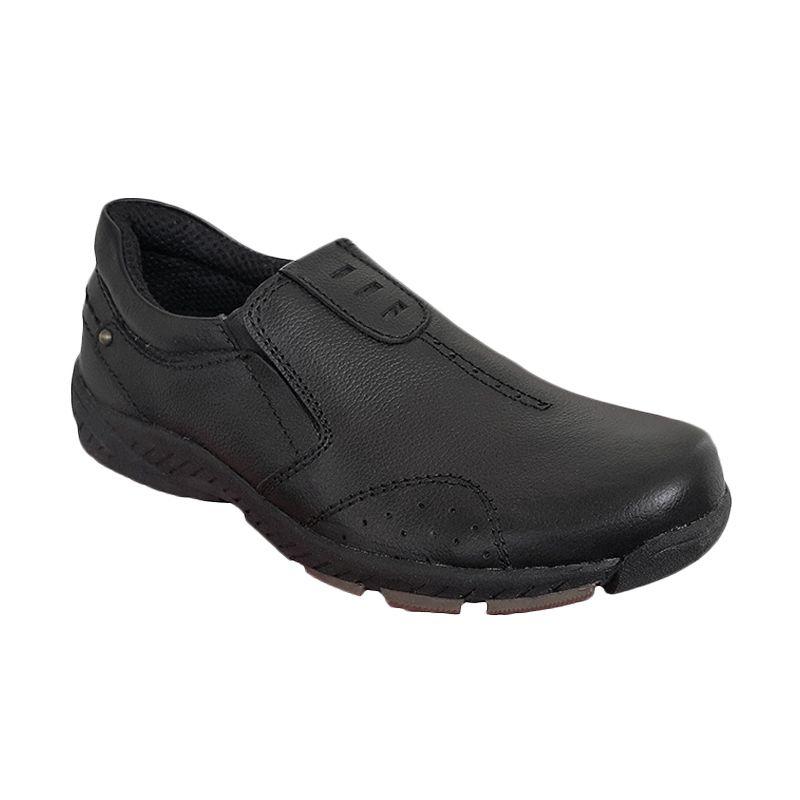 Handymen HK 034 Black Sepatu Pria