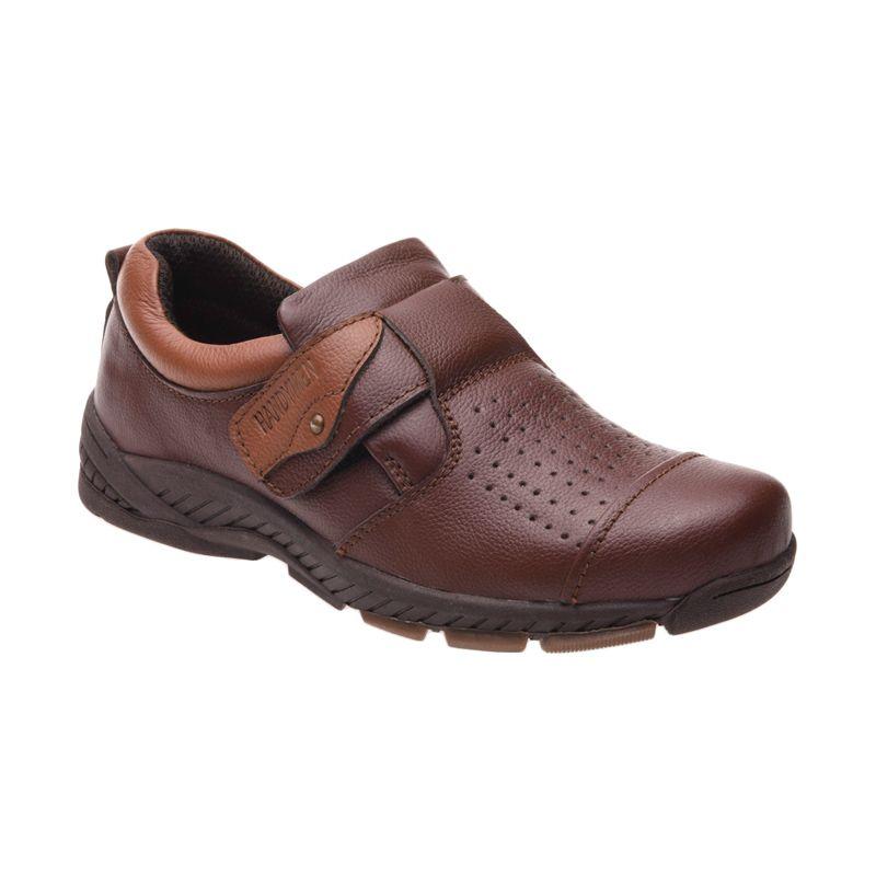 Handymen HK 037 Brown Sepatu Pria
