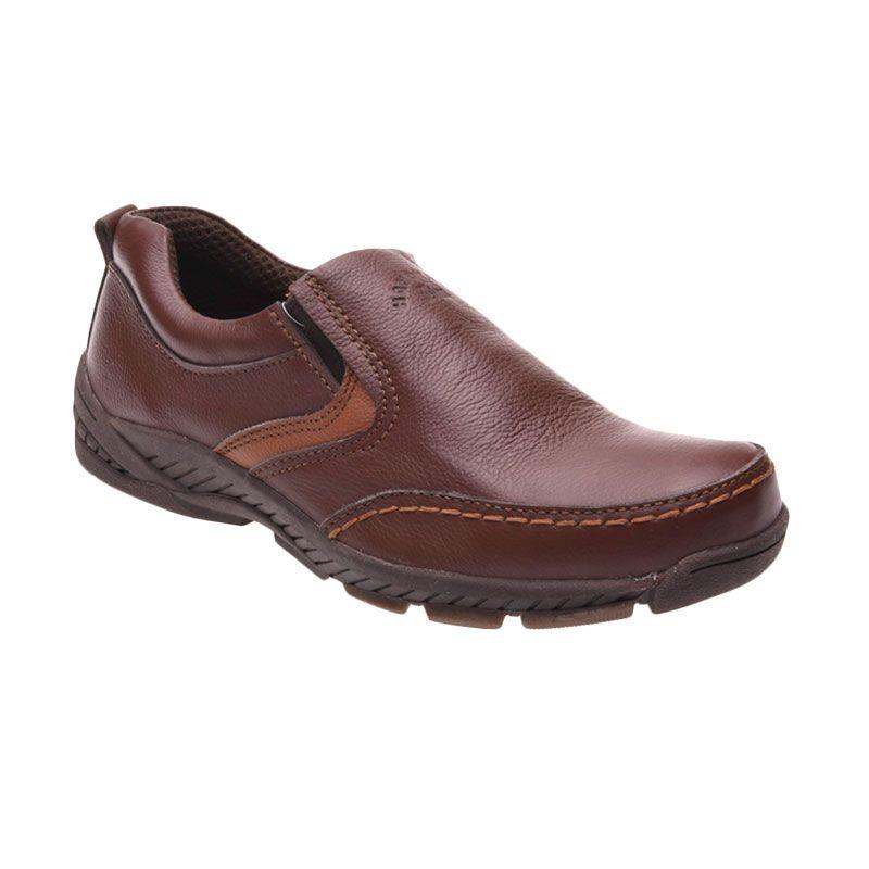Handymen HK 07 Brown Sepatu Pria