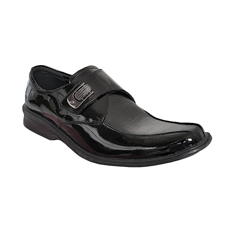 Handymen HK Lak 801 Black Sepatu Pria