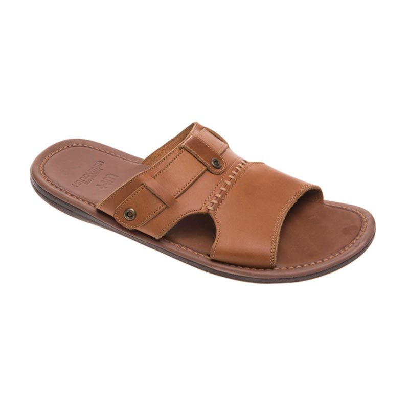 Handymen Hmt 05 Light Brown Sandal Pria