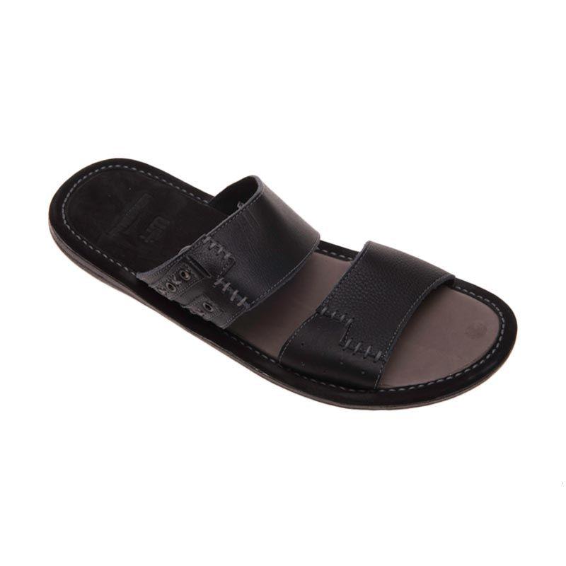 Handymen Hmt Black 02 Sandal Pria