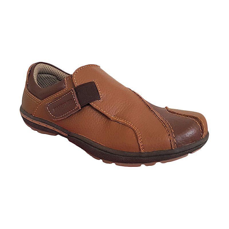 Handymen JGR 11 Light Brown Sepatu Pria