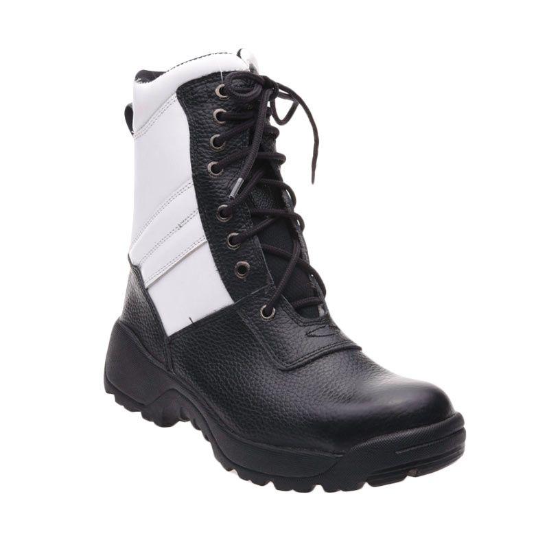 harga Handymen Kelinci PDL 025 Black White Sepatu Pria Blibli.com
