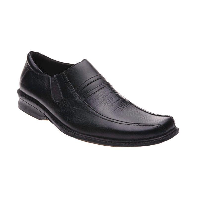 Handymen LCP 02 Black Sepatu Formal Pria