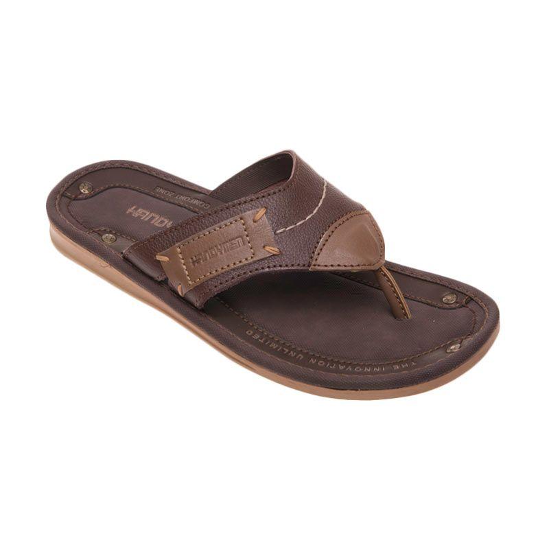 Handymen Msr 06 Brown Sandal Pria