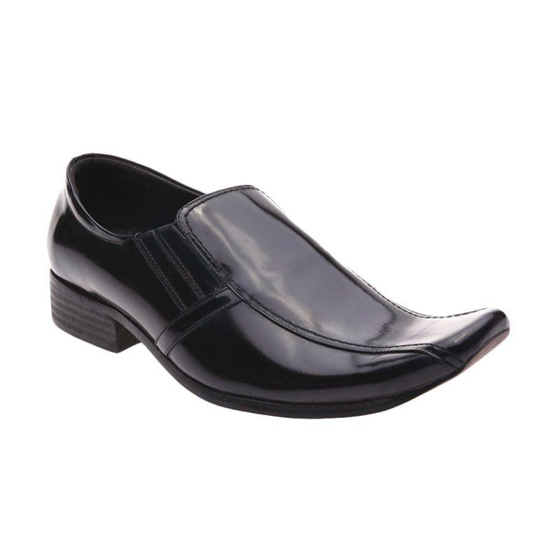 Handymen P 5001 Black Sepatu Formal Pria