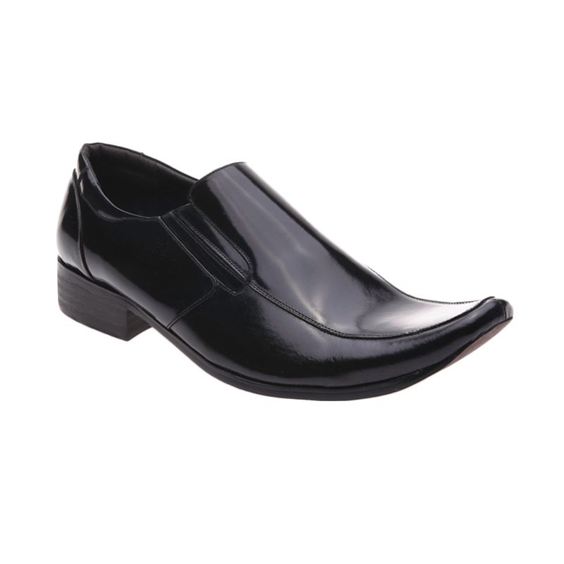 Handymen P 5004 Black Sepatu Formal Pria