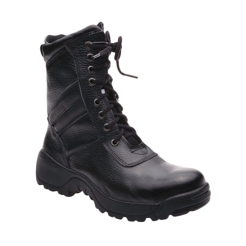 Handymen PDL 025 Black Sepatu Pria