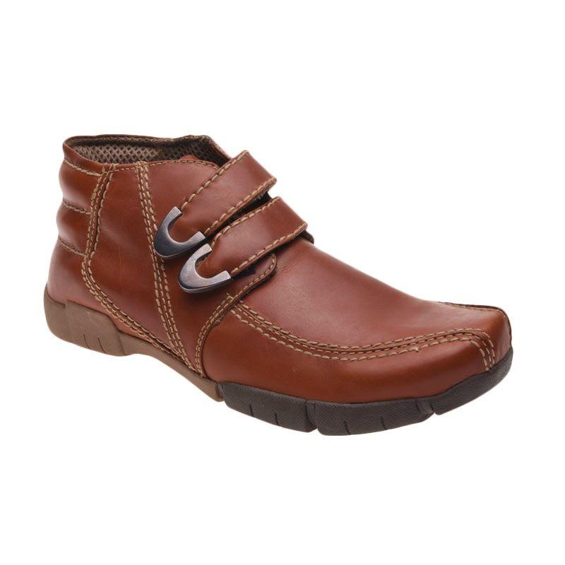 Handymen SMB 307 Brown Sepatu Pria
