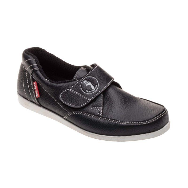King Toes AN 02 Black Sepatu Pria