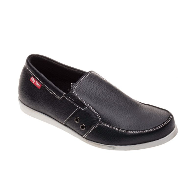 King Toes AN 04 Black Sepatu Pria